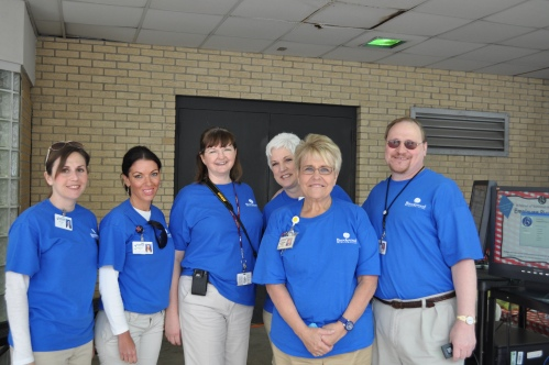 Brookwood employees who coordinated this event.