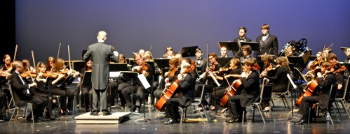 The Samford Orchestra performed on March 6. Photo by Keith McCoy.
